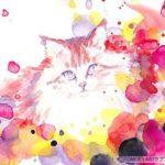 猫のラブストラクション・アート